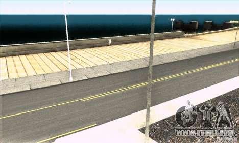 Real HQ Roads for GTA San Andreas fifth screenshot