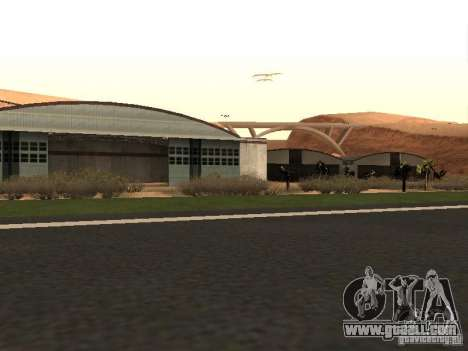 The New Airport for GTA San Andreas forth screenshot