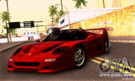 Ferrari F50 Spider for GTA San Andreas