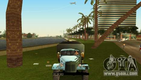 ZIL-157 for GTA Vice City inner view