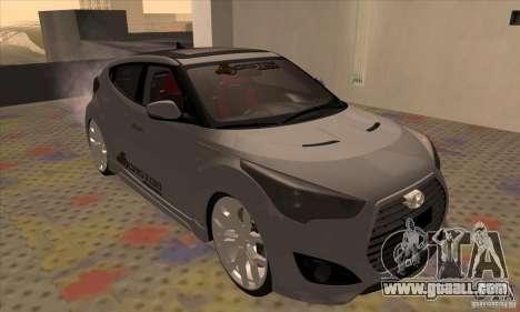 Hyundai Veloster Castor for GTA San Andreas left view