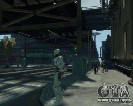Skin Robokopa for GTA 4 forth screenshot