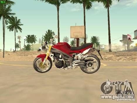 Bike Triumph for GTA San Andreas right view