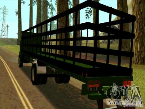 Ford Cargo for GTA San Andreas back left view