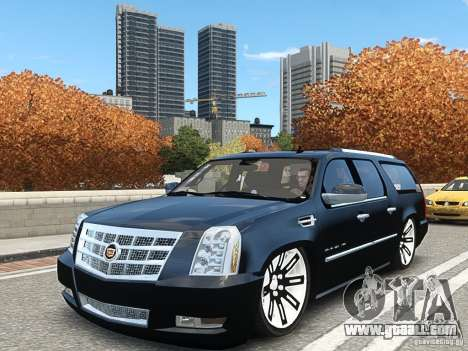 Cadillac Escalade ESV 2012 DUB for GTA 4