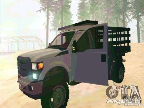 Ford F-450 for GTA San Andreas left view
