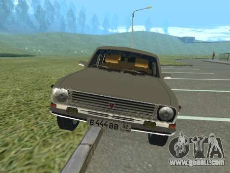 GAZ-24 Volga 12 for GTA San Andreas left view