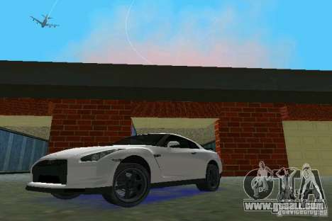Nissan GT-R Spec V 2010 v1.0 for GTA Vice City left view