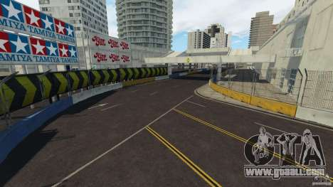 Long Beach Circuit [Beta] for GTA 4 ninth screenshot