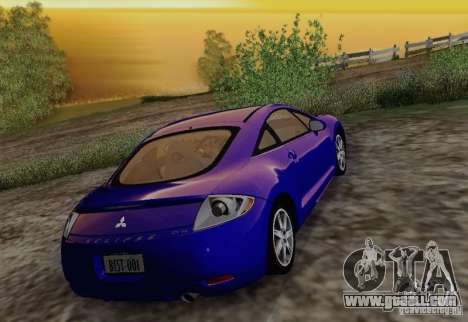 Mitsubishi Eclipse GT V6 for GTA San Andreas side view
