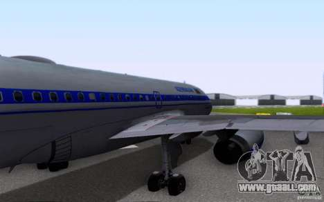Airbus A-319 Azerbaijan Airlines for GTA San Andreas side view
