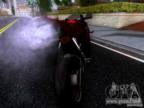 Honda CBR 600 RR for GTA San Andreas left view