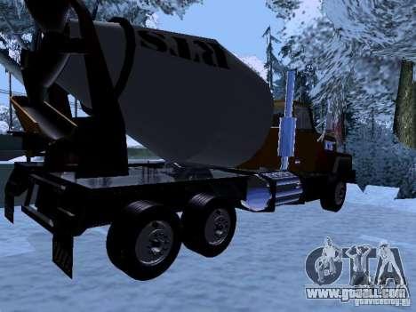RTS 420 Šatalka for GTA San Andreas right view