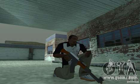 The new AK-47 for GTA San Andreas second screenshot