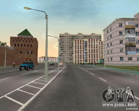 Nižegorodsk v0.1 BETA for GTA San Andreas third screenshot