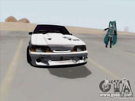 Ford Mustang Drift for GTA San Andreas back view