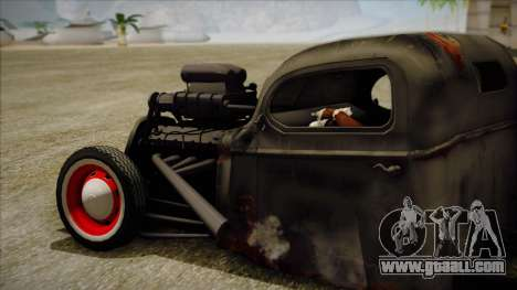 Rat Rod for GTA San Andreas left view