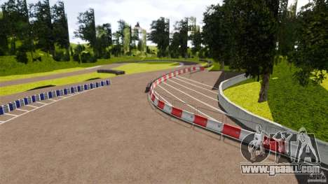 Meihan Circuit for GTA 4 third screenshot