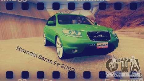 Hyundai Santa Fe 2009 for GTA San Andreas