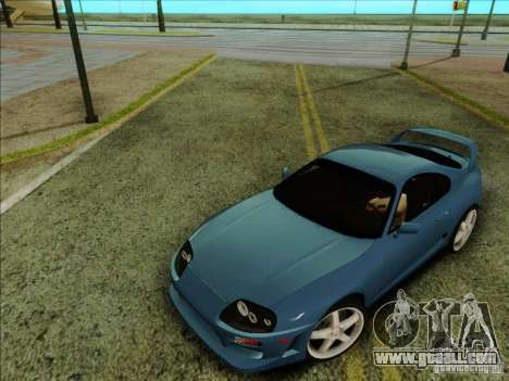 Toyota Supra RZ 1998 for GTA San Andreas right view