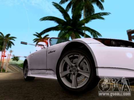 Honda S2000 for GTA San Andreas right view