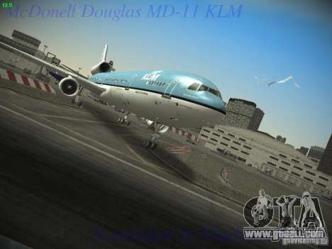 McDonnell Douglas MD-11 KLM Royal Dutch Airlines for GTA San Andreas