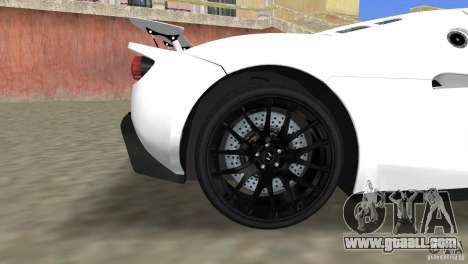 Hennessey Venom GT Spyder for GTA Vice City right view