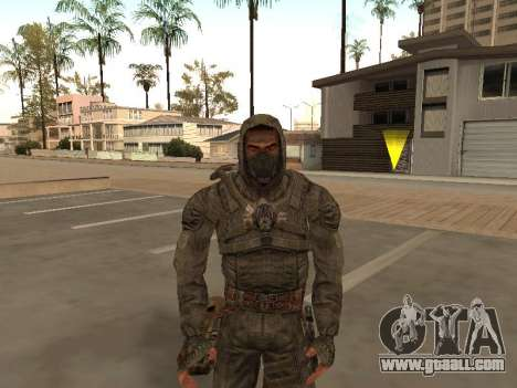 A large Pack of free stalkers for GTA San Andreas ninth screenshot