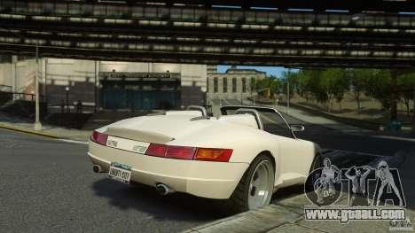 Comet Speedster for GTA 4 left view