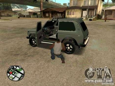 21213 Niva LADA for GTA San Andreas right view