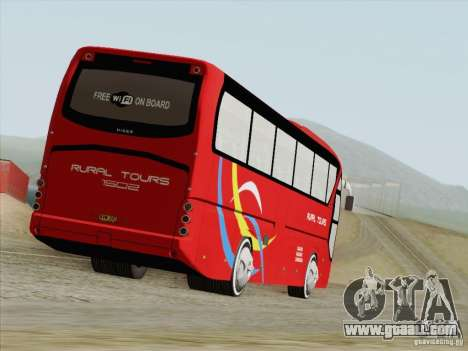 Neoplan Tourliner. Rural Tours 1502 for GTA San Andreas back left view