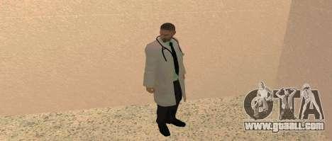 Medic Pack for GTA San Andreas