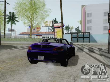 BMW Z4 2011 for GTA San Andreas left view