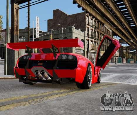Lamborghini Murcielago RSV FIA GT1 for GTA 4 left view