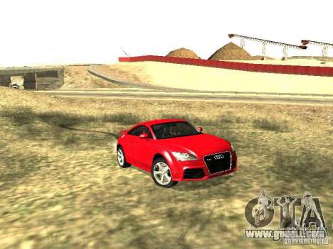 Audi TT-RS Coupe 2011 v.2.0 for GTA San Andreas left view