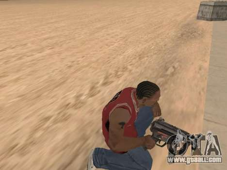 MP5K for GTA San Andreas fifth screenshot