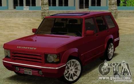Huntley Freelander for GTA San Andreas
