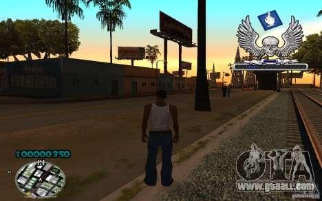 C-HUD awk William for GTA San Andreas