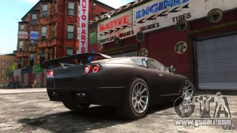 Super GTR Final for GTA 4 left view