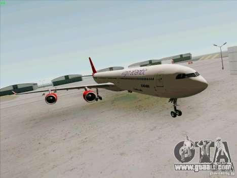 Airbus A-340-600 Virgin for GTA San Andreas