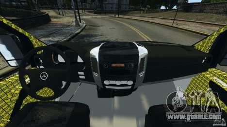 Mercedes-Benz Sprinter Police [ELS] for GTA 4 back view