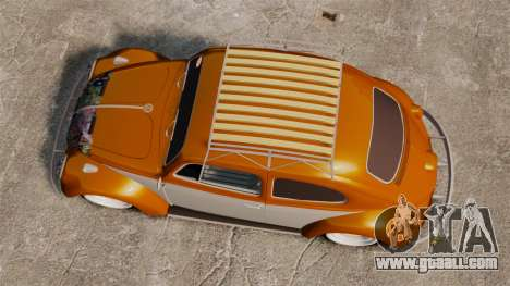 Volkswagen Fusca Edit for GTA 4 right view
