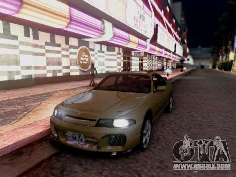Nissan Skyline ECR33 for GTA San Andreas right view