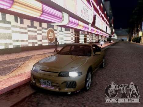 Nissan Skyline ECR33 for GTA San Andreas right view