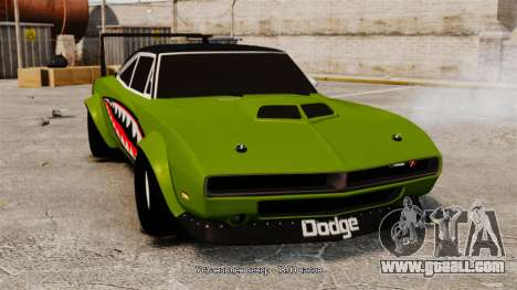 Dodge Charger RT SharkWide for GTA 4