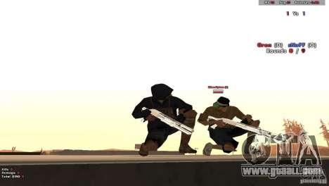 New Chrome Guns v1.0 for GTA San Andreas forth screenshot