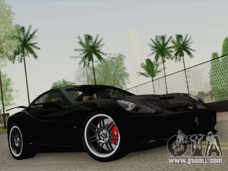Ferrari California for GTA San Andreas engine