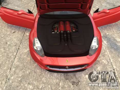 Ferrari California 2009 for GTA 4 right view