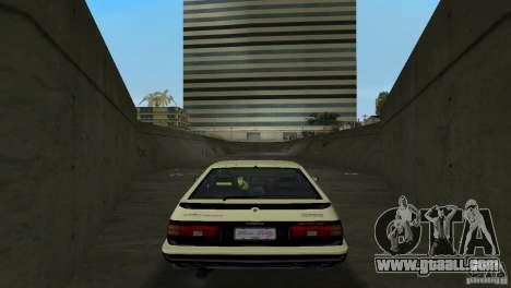 Toyota Trueno Sprinter for GTA Vice City right view