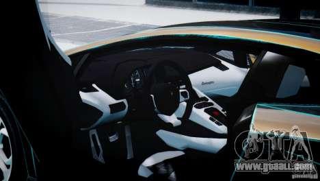 Lamborghini Aventador LP700-4 for GTA 4 right view